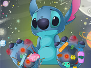 Stitch Foot Injured